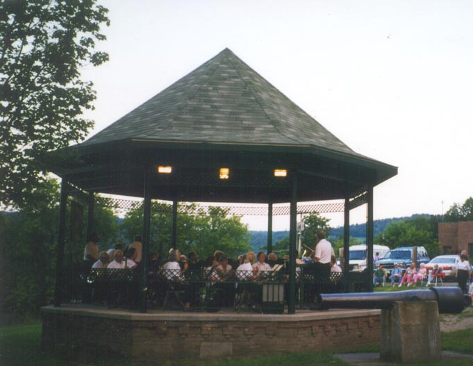 Bandstand in Courthouse Park
